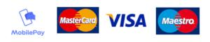 betalingsmuligheder mobilepay mastercard visa