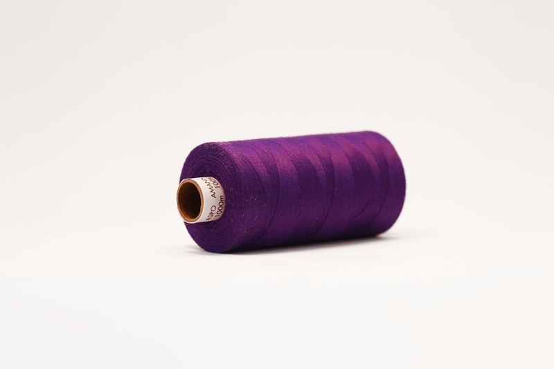 Amann Aspo tråd - mørk lilla fv. 0046 - FabricRoad