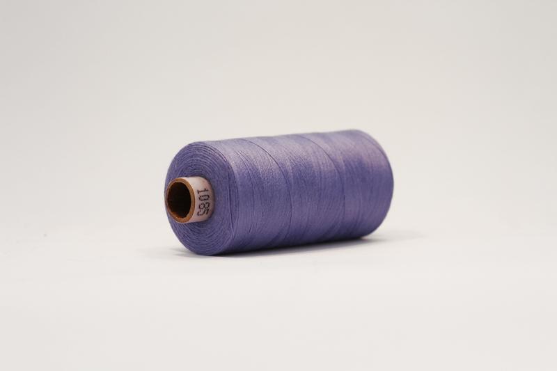 Fast viscose småblomstret pink/lilla/army - FabricRoad
