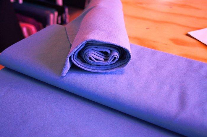 Bomuldsjersey ensfarvet lys lilla fv. 21 - FabricRoad